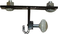 Brochure Box Mounting Clip for Angle Iron Frames